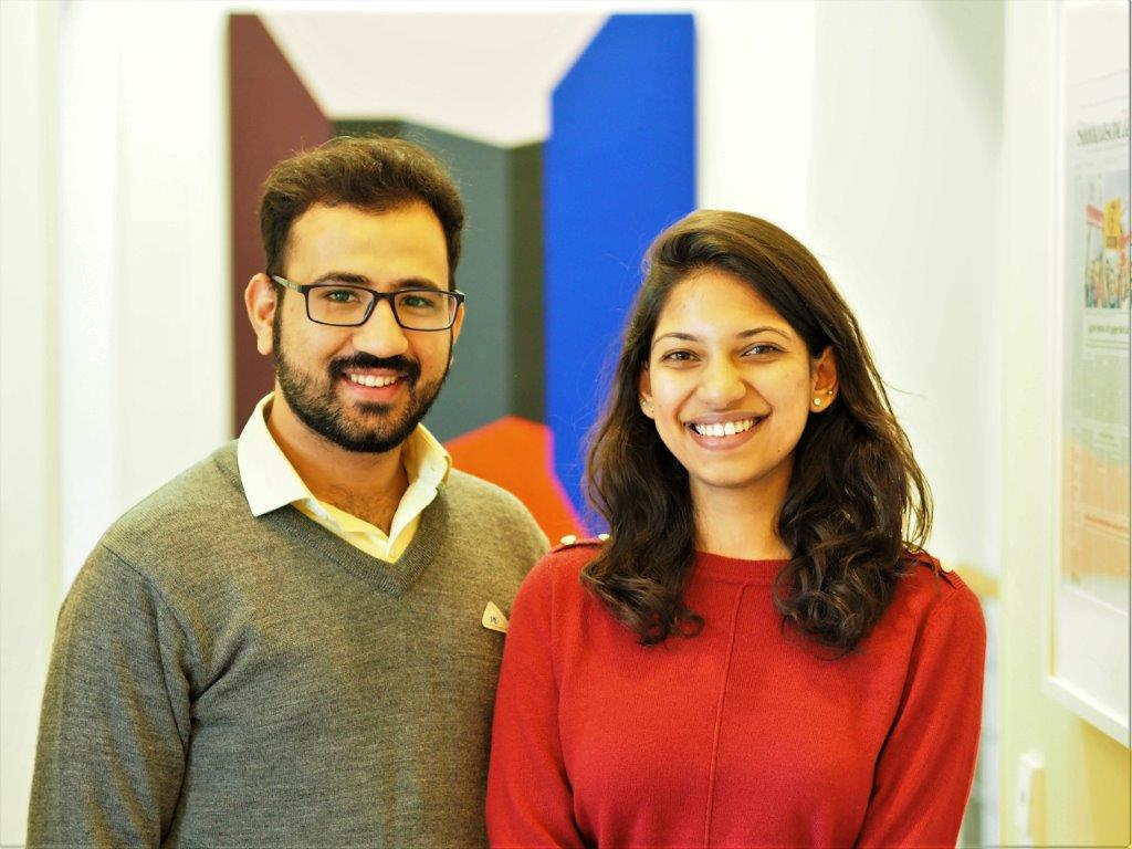 Namaste! – We bid a warm welcome to Asmita Singh and Vinayak Kapur