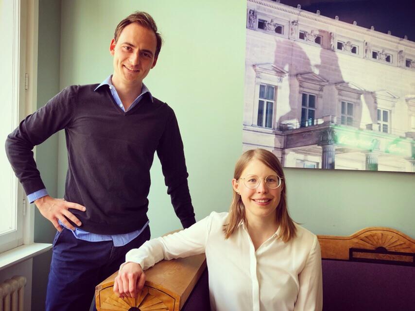 Welcome Saskia and Albrecht!